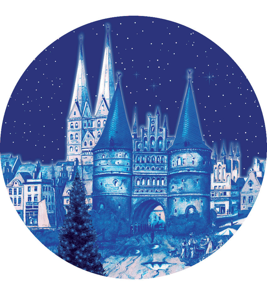 2019BDXPE - 2019 Berlin Design Christmas Plate - english