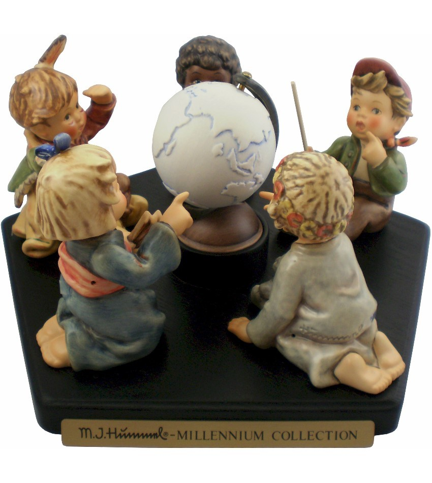 2060SET - Millennium Collector Set w. Porcelain Globe