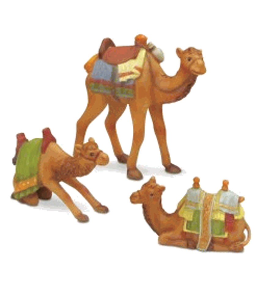 827407 - Camels Set of 3 Mini Figurines