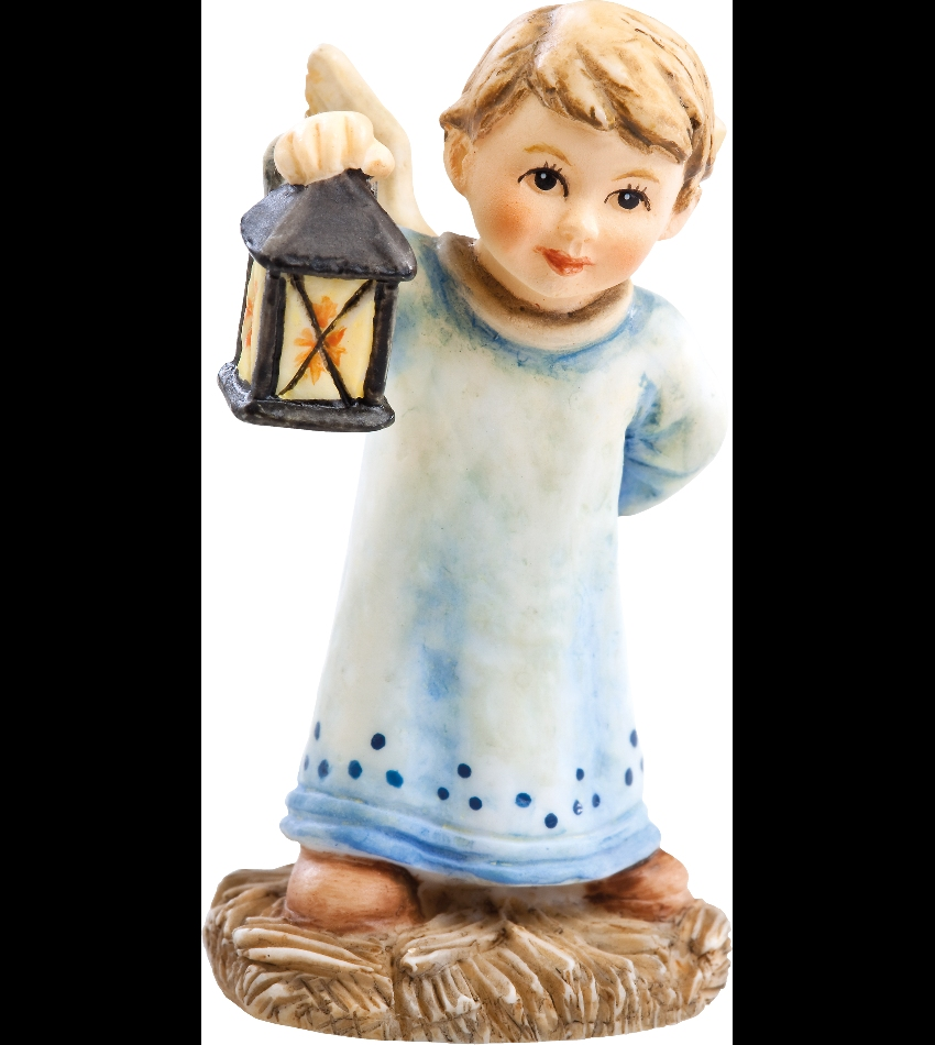 828023 - Angel with Lantern Mini Figurine