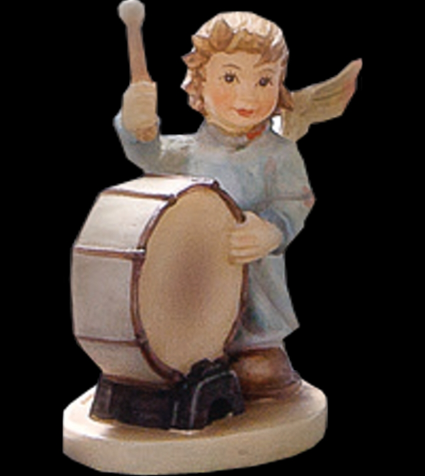 828115 - Angelic Drummer Mini Figurine