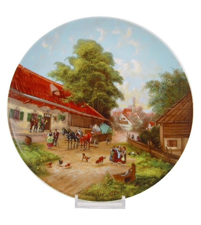 CSFARM - Farmer's Wedding Plate
