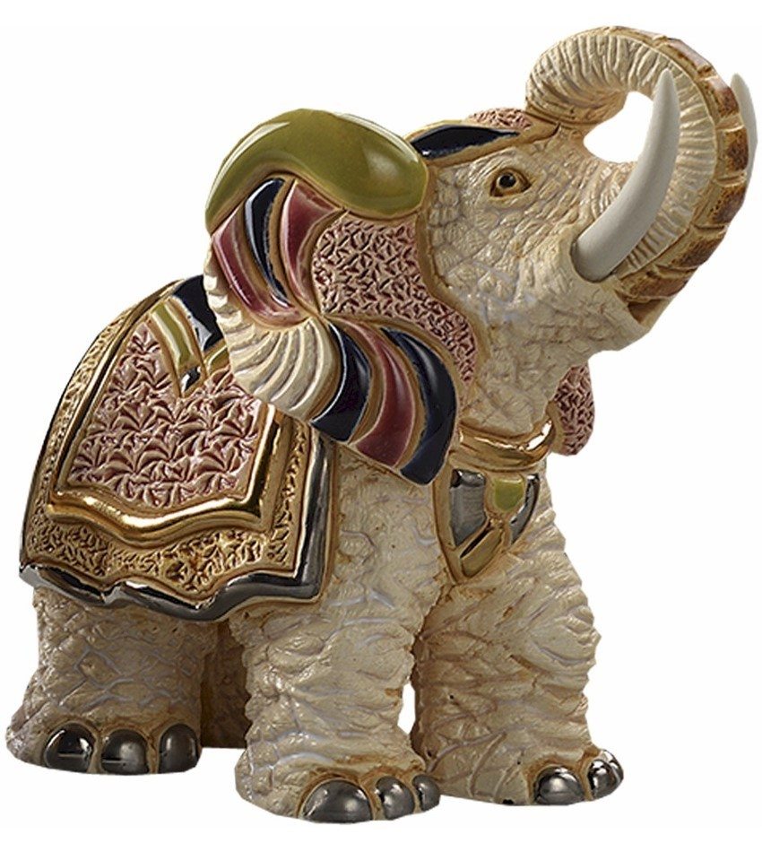 DERF187 - White Indian Elephant