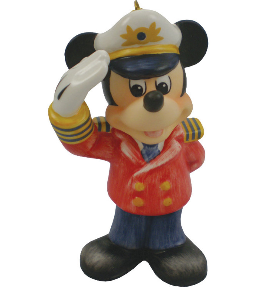 G102943 - Mickey Mouse Captain Ornament