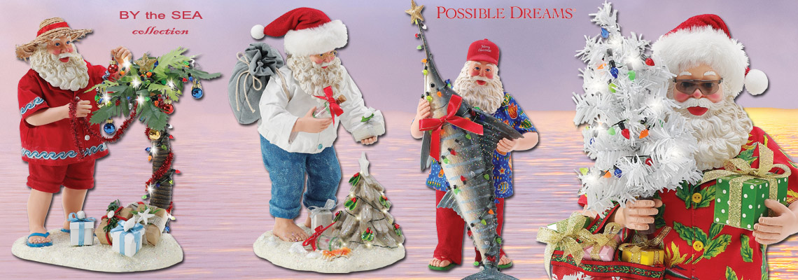 Possible Dreams Santas